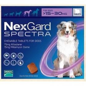 Nexgard Spectra 15.1 a 30 kg 1 Comprimido
