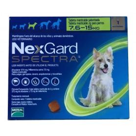 Nexgard Spectra 7.6 a 15 kg 1 Comprimido