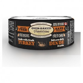 Oven Baked Gato Lata Humeda Pavo 156 grs