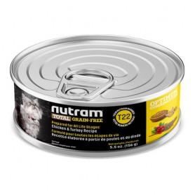Nutram Total Grain Free Chicken & Turkey Cat Canned 156 Grs