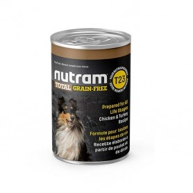 Nutram Total Grain Free Chicken & Turkey Canned 369grs