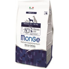 Monge Medium Adult Chicken 3 kg
