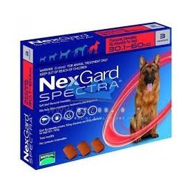 Nexgard Spectra 30 a 60 kg 3 Comprimidos