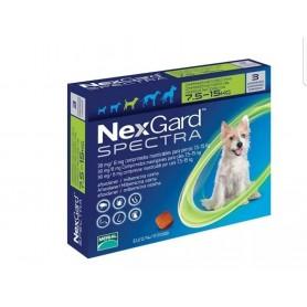 Nexgard Spectra 7.6 a 15 kg 3 Comprimidos