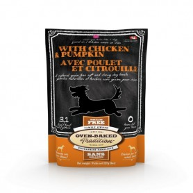 Golosina Oven Baked Dog Treat Chicken and Pumpking 227 grs