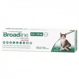 Broadline  Antiparasitario Interno y Externo Para Gatos 2.5 - 7.5Kg