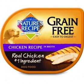 Alimento Humedo Natures Recipes Pollo Libre de Grano