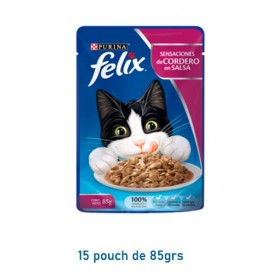 Pack 15 Pouch Felix Corderos 85grs