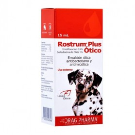 Rostrum Otico Plus 15ml