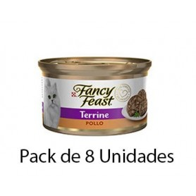 Fancy Feast Terrine Pollo 8 unidades