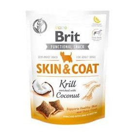 Brit Functional Snack Skin and Coat 150 grs