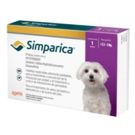Simparica 2.6  a 5 kg 1 Comprimido