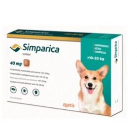 Simparica 10.1 a 20 kg 3 Comprimidos
