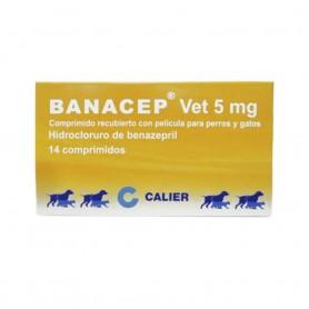 Banacep Benazepril Clorhidrato 5 mg