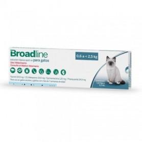 Broadline  Antiparasitario Interno y Externo Para Gatos 0.6 a 2.5 kg