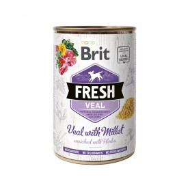 Lata Brit Fresh Ternera con...