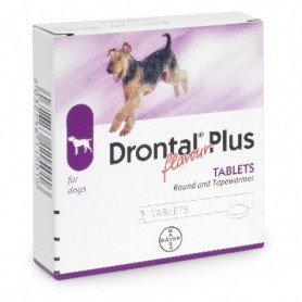 Drontal Plus Saborizado 35 kg 1 tableta
