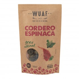 Wuaf Snack Cordero Espinaca 100grs