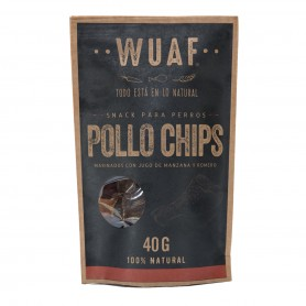 Wuaf Snack Chip Pollo 40grs