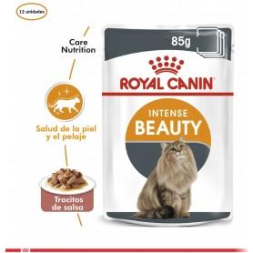 Pack 12 Pouch Royal Canin belleza intensa 85gr