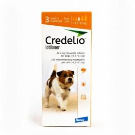 Credelio Perro de 5.5 a 11 kg de 3 Comprimidos