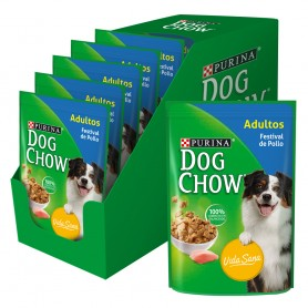 Pack 15 Sobres Dog Chow Pollo
