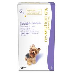 Revolution 12% Perros hasta 2,6 a 5 kg