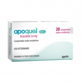 Apoquel 3.6 mg x 20 comprimidos