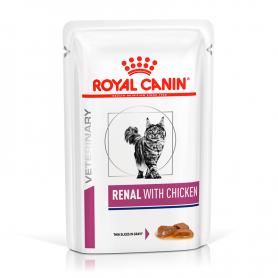 Royal Canin Pouch Renal Chicken Feline 85 grs