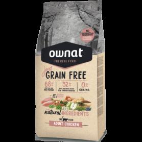 Ownat Just Grain Free Adult Chicken Cat 3kg.