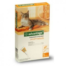 Advantage para gatos hasta 4kg