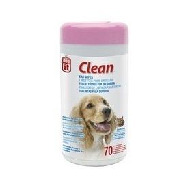 Toallitas Limpieza oido perros y gatos 70 uni