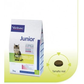 Alimento HPM Virbac HPM Cat Junior Neutered 1.5 kg