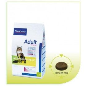 Alimento HPM Cat Salmon Neutered & Entire 1.5 kg