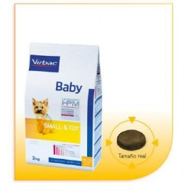 Alimento HPM Virbac Dog Baby Small & Toy 1.5 kg.