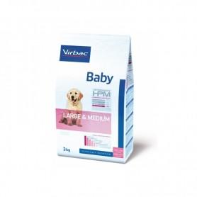 Alimento HPM Virbac Baby Dog Special Large Medium 3 kg