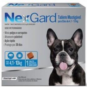 NexGard 1 Compromido 4 a 10 Kg
