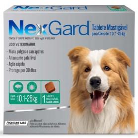 NexGard 1 Compromido 10 a 25 Kg