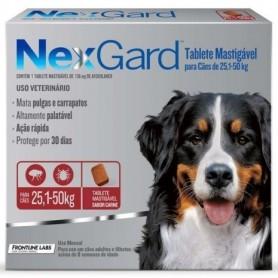 NexGard 1 Compromido 25 a 50 Kg