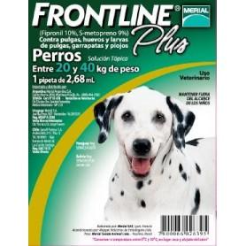 Frontline Plus Pipeta para Perros de 20 a 40 kg