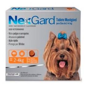NexGard 1 Compromido 2 a 4 Kg