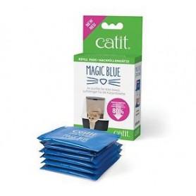 Catit Magic Blue Cartucho Reductor de Olores Repuesto 6un