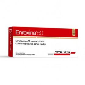 Enroxina 50 mg. 10 Comprimidos