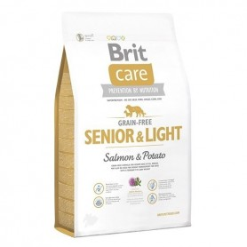 Brit Care Libre de Granos Senior & Light Salmon 3 kg