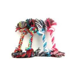 Cuerda Anudada Tricolor 18 cm