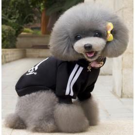 Poleron DogBaby Negro Talla L
