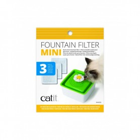 Catit Filtro Fuente Mini Flor 3 unids