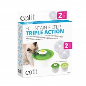 Catit Filtro Fuente Triple Accion 2 unds.