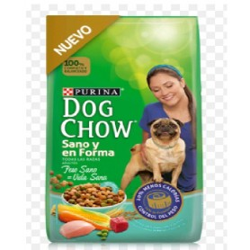 Dog Chow Sano y en Forma 8 KG ( Ex Light)