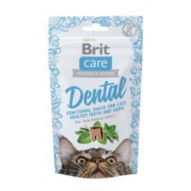 Brit Care Cat Snack Dental 50 grs